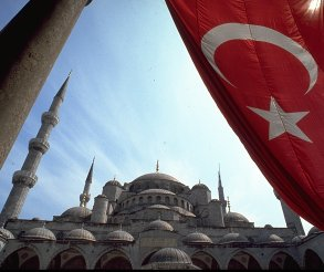 The Blue Mosque, Istanbul - Copyright TravelNotes.org