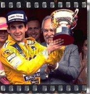 Ayrton Senna - Six Times Winner in Monaco - copyright Michel Guntern, TravelNotes.org