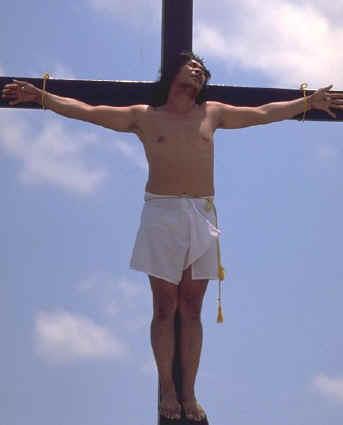 Crucified, by Michel Guntern
