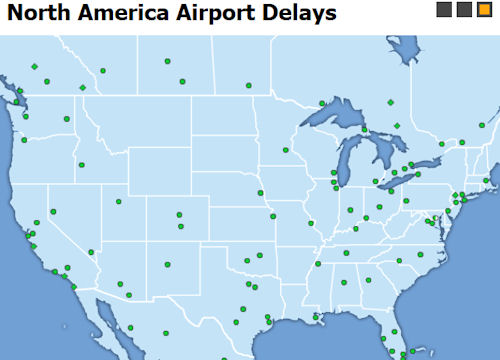 US Weather Related Flight Delays and Travel Weather Video
