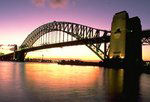 On photo walkabout in Australia - Sydney Harbour Bridge.