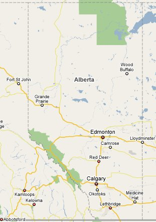 Alberta Travel Guide 1800Canada Part of TravelNotesorg