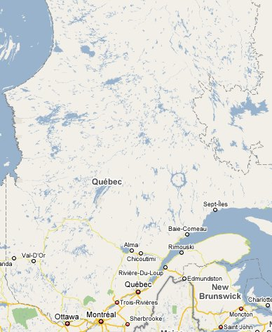 Quebec travel guide 1800 canada part of travelnotes map of quebec gumiabroncs Gallery
