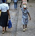 Head Carrying in Mozambique