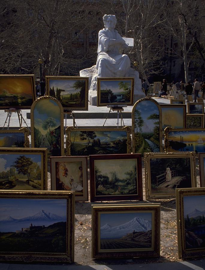 Armenian Art in The Park Travel Photography