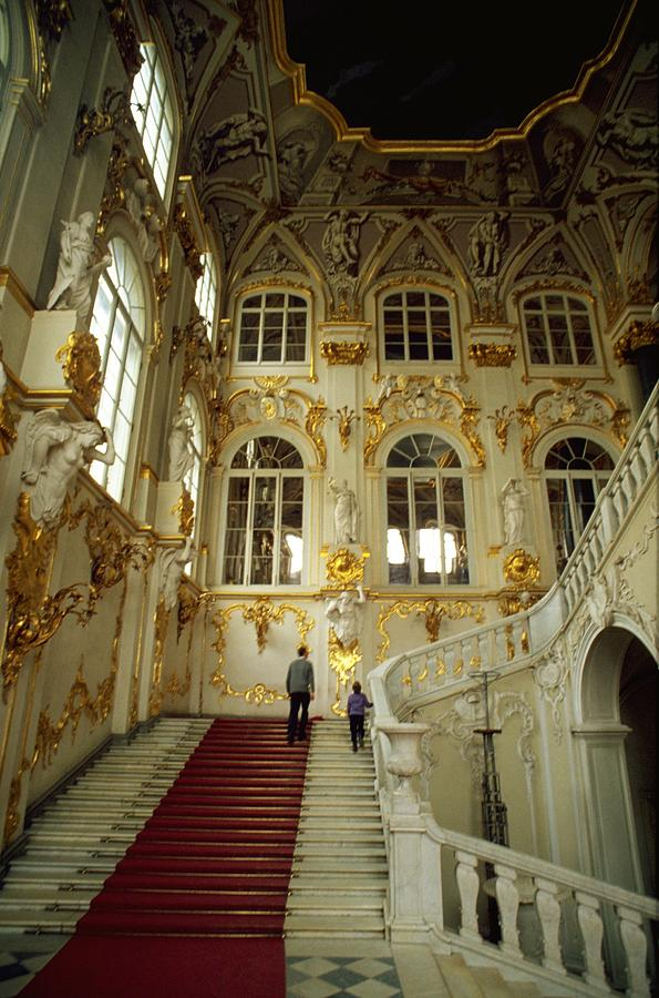 Hermitage Staircase Travel Photography