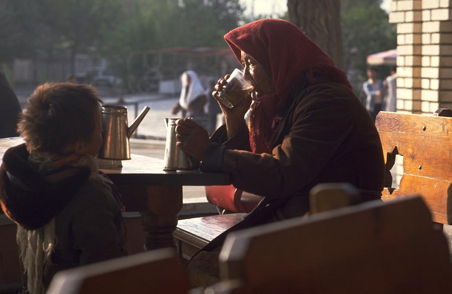 Tea in Tashkent, Uzbekistan Travel Photography