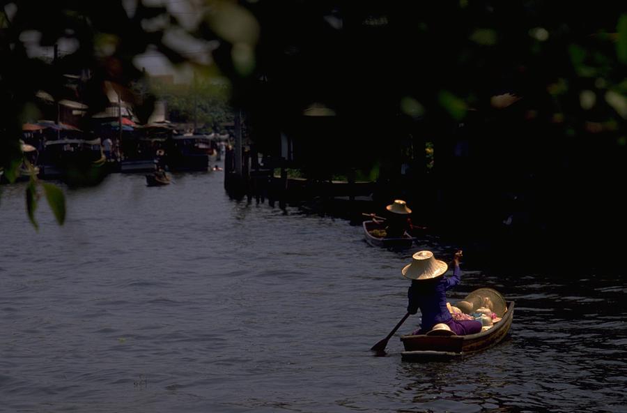 Bangkok Floating Market, Thailand Travel Photography