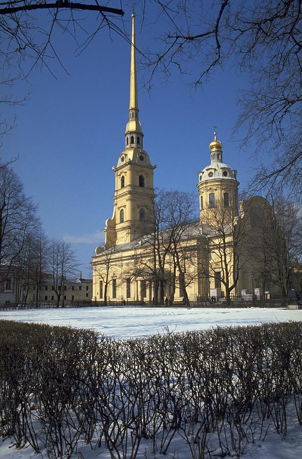Peter and Paul Cathedral, St Petersburg Travel Photography